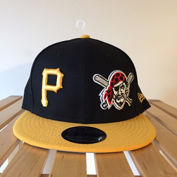 wholesale dealer 12578 3df4e New Era 9FIFTY Pittsburgh Pirates Snapback Hat NEW